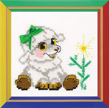 cross stitch kit Happy Bee