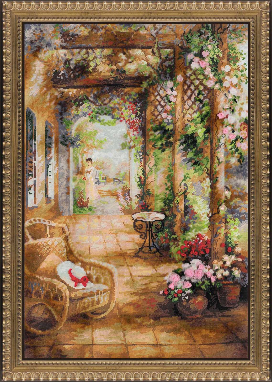 Cross stitch kit 100/043 A secret Romance