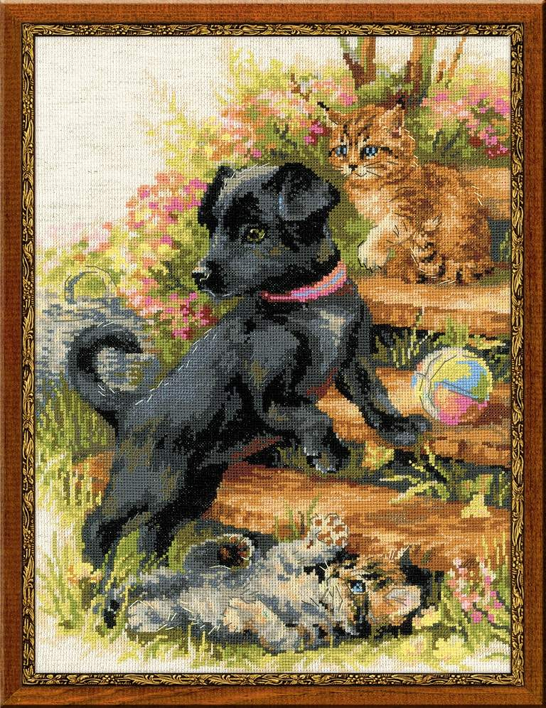 Cross stitch kit 1437 On the Holiday