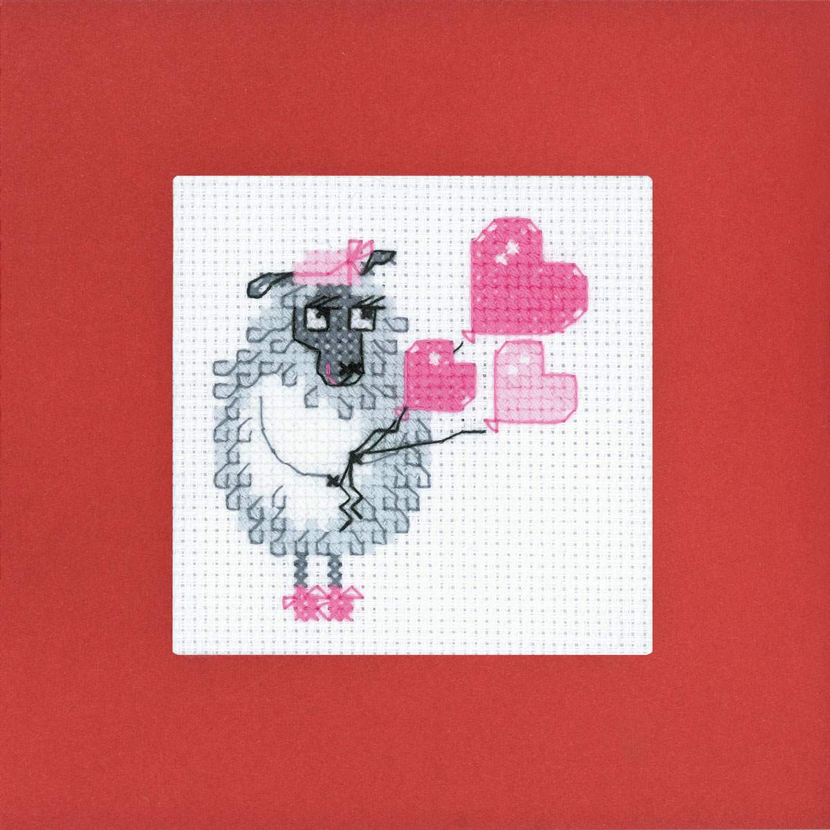 needlework kits greeting card